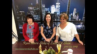 "Saving LIVES""~Honored Guest, Dr. Angela Kokkosis, MD, FACS.~~ ReneMarie Stroke of Luck Show"