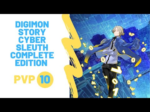 Digimon Story Cyber Sleuth Complete Edition PVP 10 |