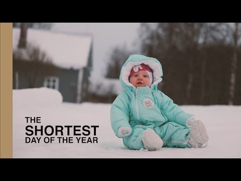 The SHORTEST day of the year in FINLAND