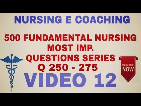 NCLEX BASED || FUNDAMENTAL NURSING MOST IMP. QUESTIONS