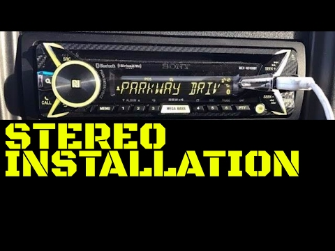 GMC Sierra/Chevy Silverado Radio/Stereo/Deck Installation/Re