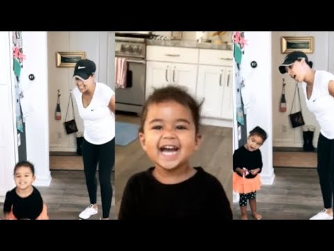Tamera Mowry teaching her daughter Ariah how to sing and act  Plus more cute s