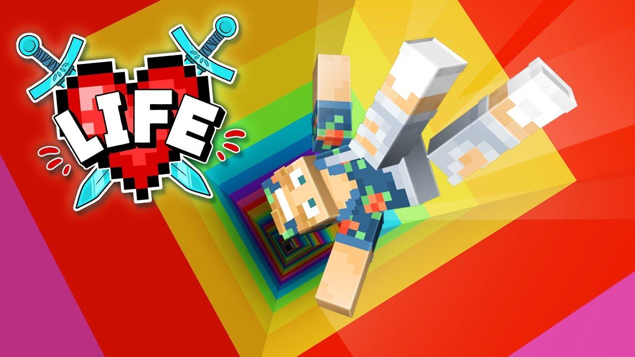 Falling into my Rabbit hole! | Minecraft X Life #22