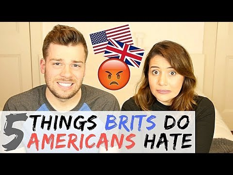🇬🇧5 THINGS BRITS DO THAT DRIVE AMERICANS CRAZY!  🇺🇸   American Vs British