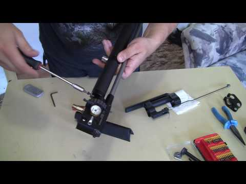 How to replace a barrel barrel on Huben K1 - (instructions for installing a custom barrel)