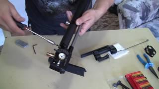 how to replace a barrel barrel on huben k1 instructions for installing a custom barrel