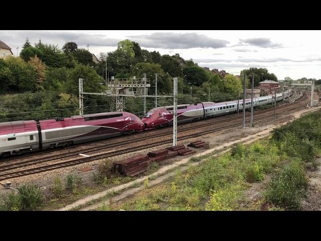 Thalys TGV PBKA - Rame n° 4304 et 4342
