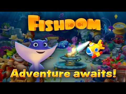 play Fishdom on pc & mac