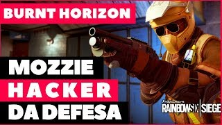 MOZZIE: MOTOQUEIRO HACKER DA DEFESA DA OPERAÇÃO BURNT HORIZON || RAINBOW SIX SIEGE