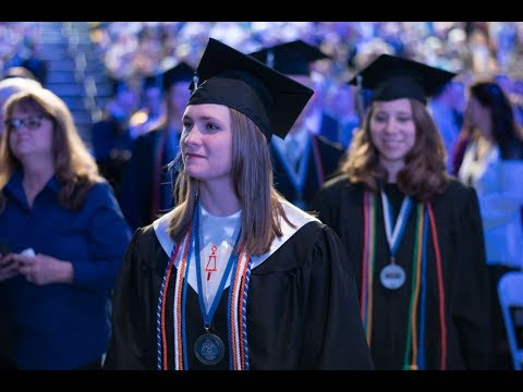 Winter 2018: Undergraduate Commencement Ceremony