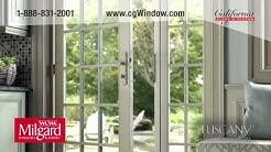 Milgard Tuscany Vinyl Replacement Windows in Orange County by California Glass & Window