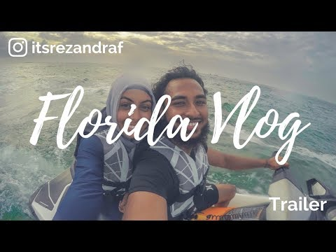 Young Muslim Married Couple | Key West Vlog | Water Sports | Snorkeling | Jet Ski | Parasailing