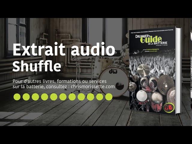 Extrait audio Shuffle - Drummer's Guide de la batterie