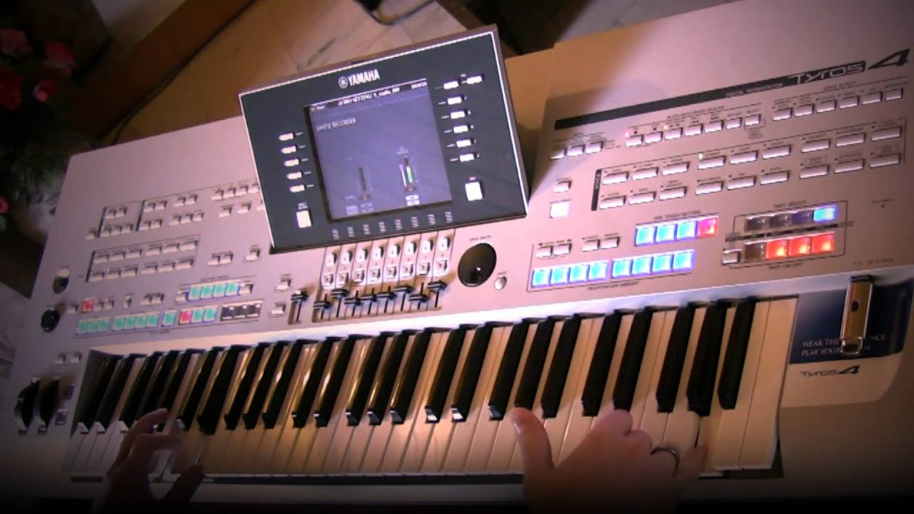 yamaha tyros 4 demo by robert urbansky live youtube. Black Bedroom Furniture Sets. Home Design Ideas