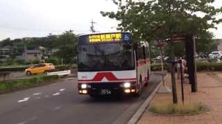 名鉄バス みずの坂線 中水野駅出発