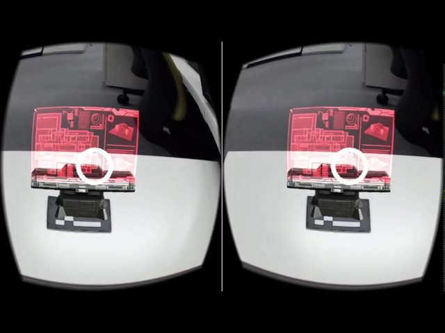 OpenCV for Unityで(AR+VR=MR)フィンガートラッキング