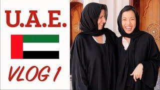 Cooking Demo, Mosque, Arabic Coffee & Dates | Sharjah/Dubai Vlog 1