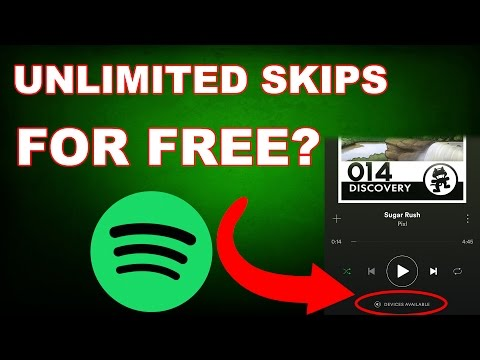 Unlimited Spotify Skips (NO PROGRAMS NO HACKS) Free