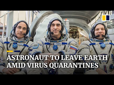 Where are you during the coronavirus pandemic? This Nasa astronaut is about to leave earth