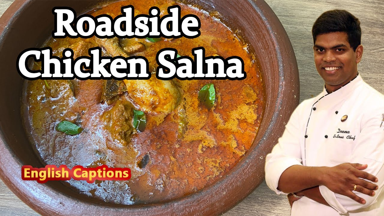 How to Make Chicken Salna | Street Style Salna Recipe | CDK #235 | Chef Deena's Kitchen