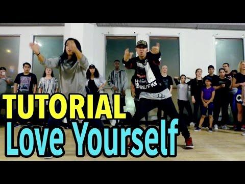 LOVE YOURSELF - Justin Bieber Dance TUTORIAL | @MattSteffanina Choreography | DANCE TUTORIALS LIVE