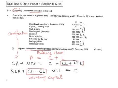 2015 BAFS Paper 1 Section B YouTube