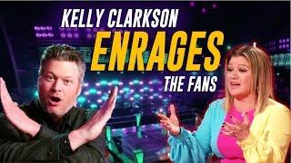 The Voice: Kelly Clarkson ENRAGES Fans w/ Shocking Decision + Live Cross