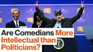 How America's Comedians Became More Intellectual than Many of Its Politicians | A.O. Scott