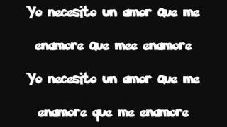 Necesito un amor  Los Profetas con letra ( Salsa Urbana)2012