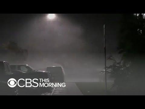 Hurricane Florence storm surge major concern