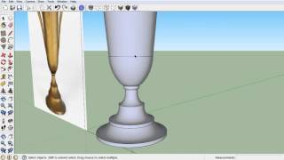 Kickstarter 3D CAD for 3D Printing Guide - How to Create a Trophy Cup Model in Sketchup