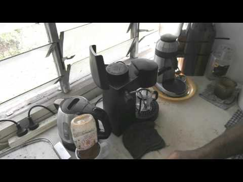 Krups 871 Espresso Bravo - How I like to use it.