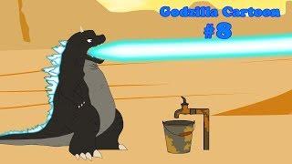 Godzilla, Shin Godzilla, Dinosaur - FUNNY #7 | 24 Min Compilation | Godzilla Cartoons For Children