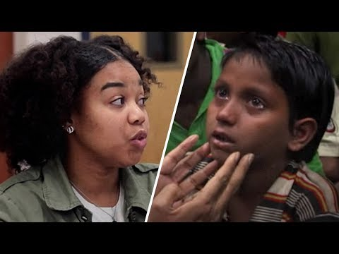 Teens React to Child Slavery & Exploitation