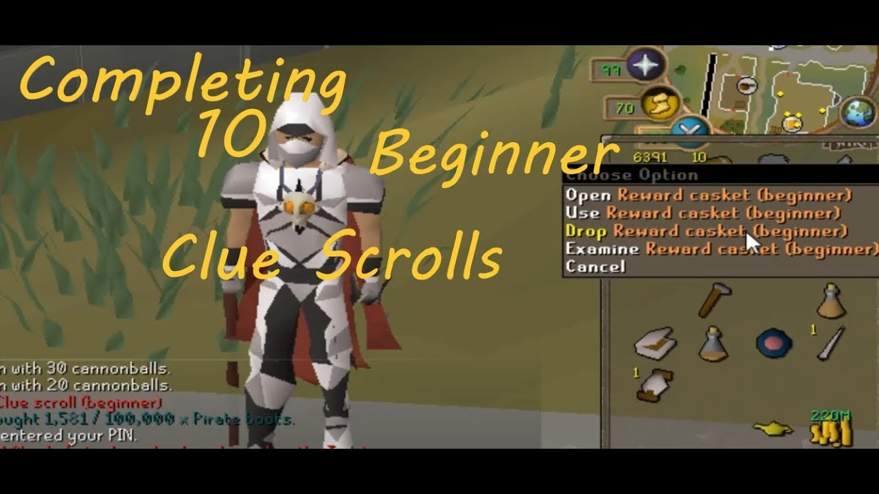 Clue scroll osrs guide | How to Get Clue Scrolls Fast in OSRS
