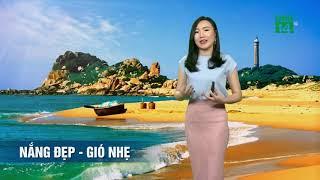 VTC14 | Thời tiết tổng hợp 19h 30/03/2018| miền Trung đón ngày cuối tuần trong tiết trời nắng đẹp