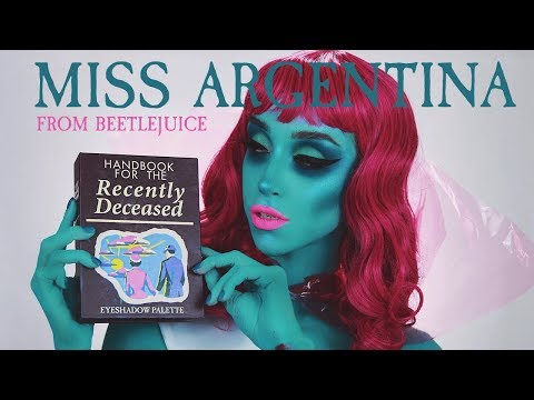 Miss Argentina Halloween Makeup Tutorial | Linabugz