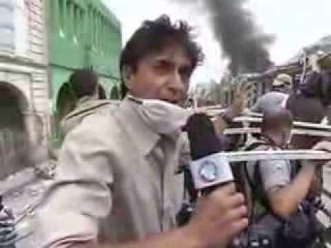 Repórter acompanhou o trabalho dos militares brasileiros no Haiti   24-01-2010