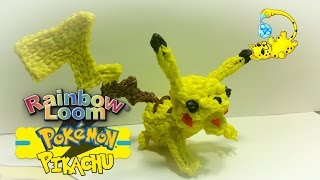 Rainbow Loom 3D Pikachu Pokémon (Part 1/3) (ピカチュウ, ПОКЕМОН ПИКАЧУ)