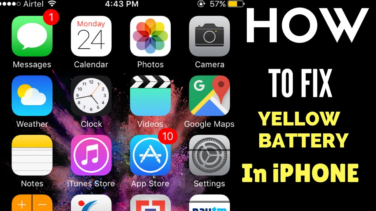 Apple iphone battery turned yellow how to fix it 2017 youtube apple iphone battery turned yellow how to fix it 2017 buycottarizona Image collections
