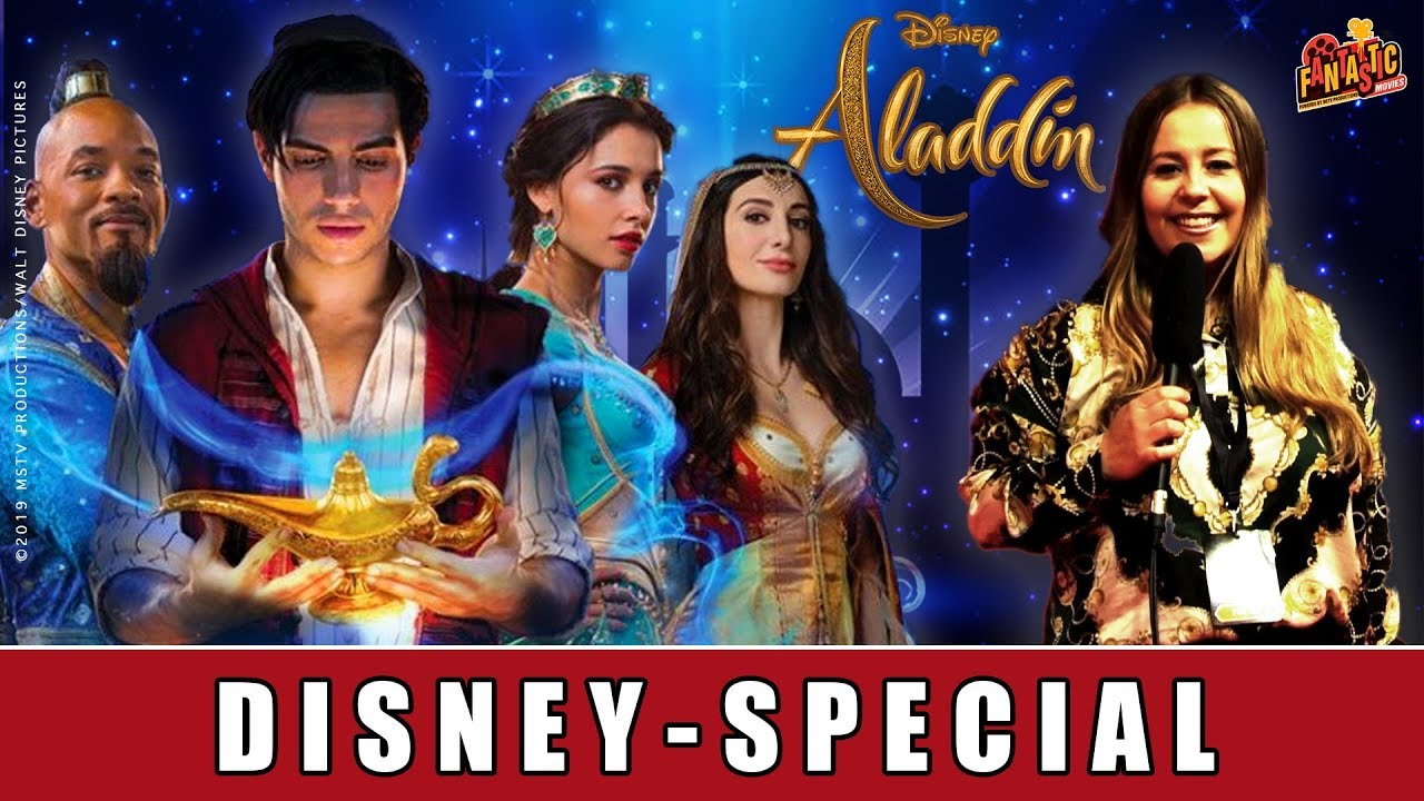 Aladdin - Disney-Special I Will Smith I Naomi Scott I Mena Massoud