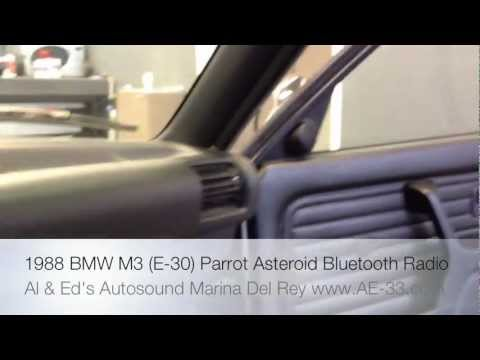 1988 bmw m3 e30 replacement parrot asteroid bluetooth. Black Bedroom Furniture Sets. Home Design Ideas