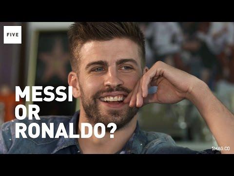 Gerard Pique Answers Rio Ferdinand's Quick-Fire Questions
