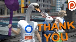 TomoNews Patreon patron thank you & shout-out video for February 2017 - TomoNews