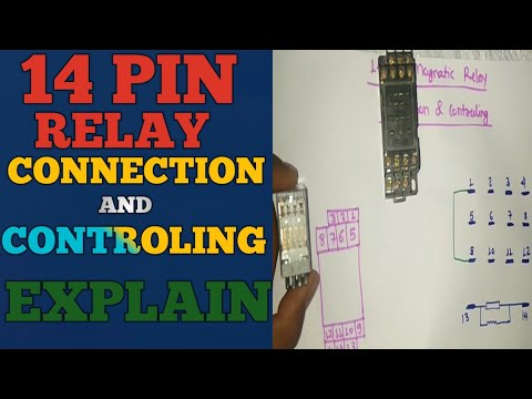 14 pin relay connection and controling