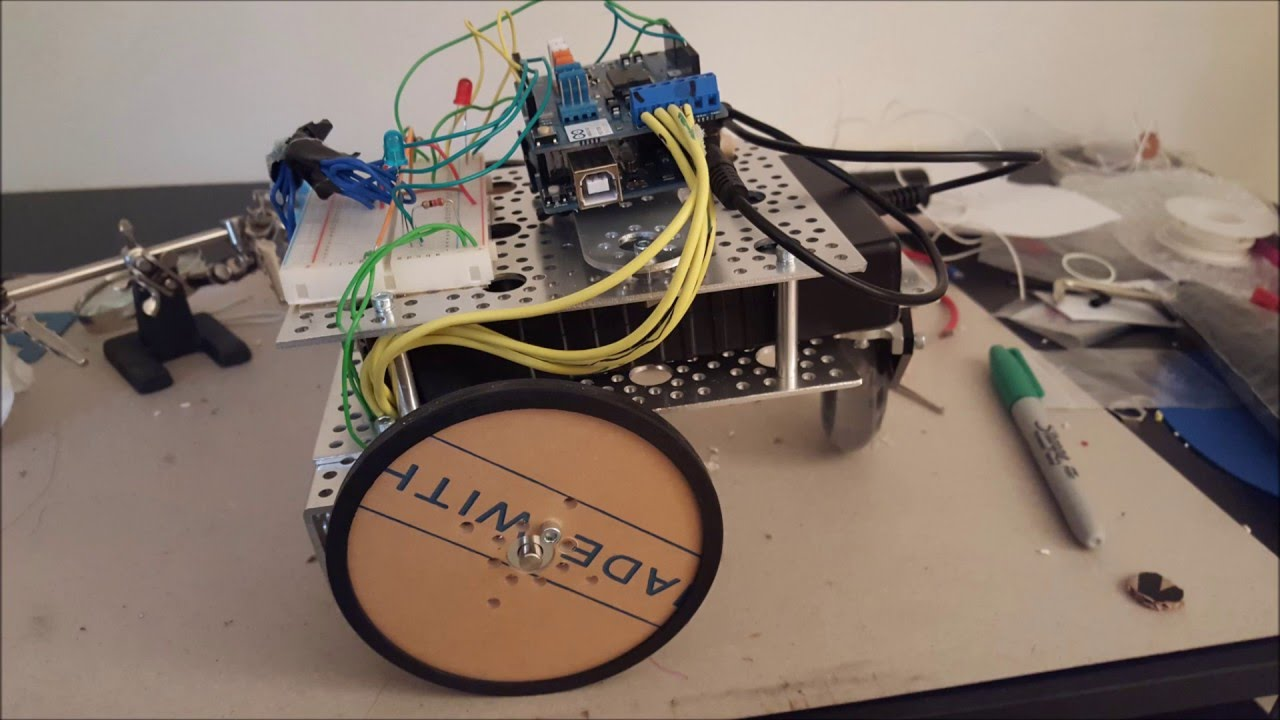 Sumo Robot example with arduino code