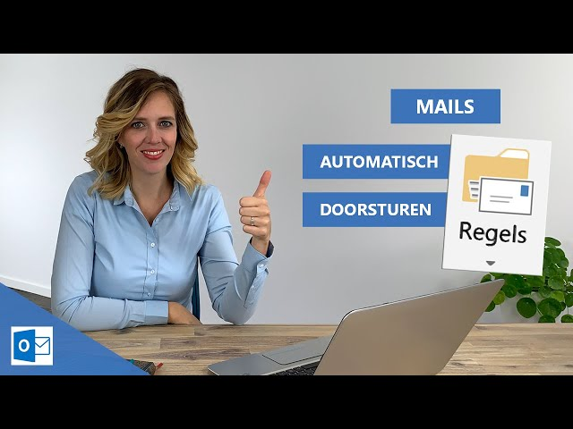 Mails automatisch doorsturen in Outlook 📨