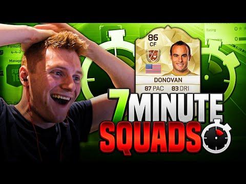 FIFA 16 - INTENSE LEGEND 7 MINUTE SQUADS!!!