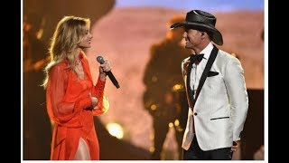Tim McGraw and Faith Hill Perform 'The Rest of Our Life' at the 2017 CMAs