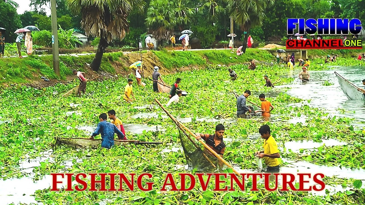 "PEOPLE ADVENTURES in (DHAKA) BANGLADESH DOCUMENTARY.""FISHING CHANNEL ONE"""